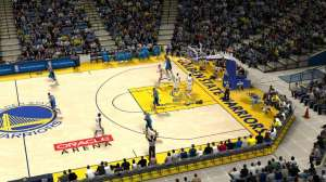 Golden State Warriors basketball home court