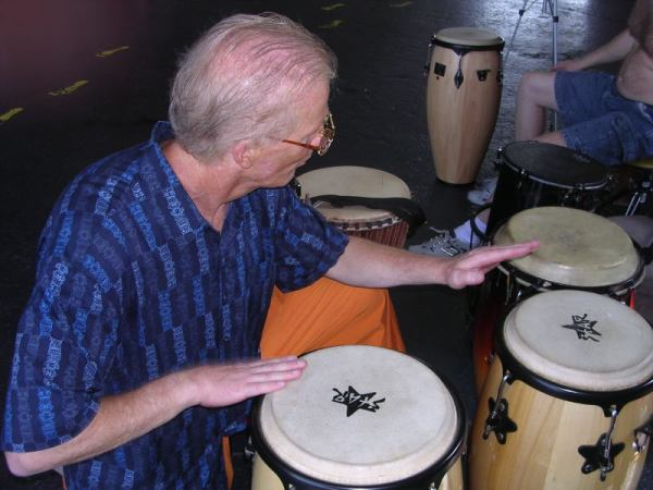 Hand Drumming helps Tactile Senses of Hands